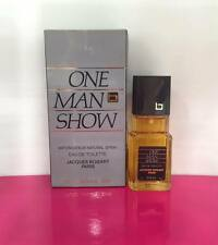 Jacques Bogart One Man Show EDT 30ml Spray New & Rare