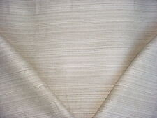 8y Colefax Fowler White / Light Grey Cotton Strie Drapery Upholstery Fabric