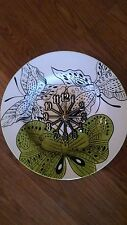 Butterfly World 10 1/2 Inch Clock -