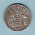 Australia. 1920 Shilling.. Full Centre Diamond - Trace Lustre.. gVF/VF
