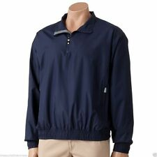 Grand Slam Men's Pullover Windbreaker Jacket Size XL Navy With Tags