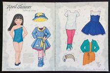 April Showers Paper Doll by Diana Vining, Mag. Pd. 2015