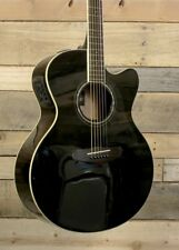 Yamaha CPX600 Acoustic/Electric Guitar Black