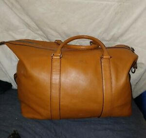 Coach Explorer Duffle in Brown Leather