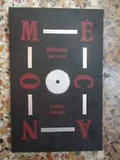 Theo Van Doesburg, MECANO NOS 1-4/5, Leiden 1922-1923 (Reprint, Quarto Press)