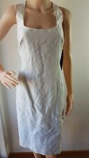 NWT HARRY WHO Ladies Ice Lined Linen Cotton Knee Length Dress Size: 14 RRP: $299