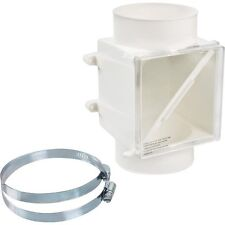 "PROCLEAN DRYER DUCT LINT TRAP - PLASTIC - FITS ALL 4"" DRYER DUCTS"