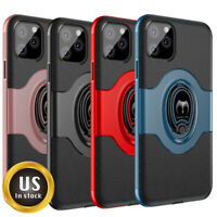 Mosafe® For iPhone 11/ Pro/ Pro Max Shockproof Kickstand Ring Holder Case Cover