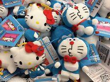 DORAEMON HELLO KITTY  SEGA PRIZE PLUSH JAPAN SANRIO MODELE 4