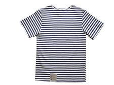 Magliette e maglie a righe a manica corta con girocollo per bambini dai 2 ai 16 anni