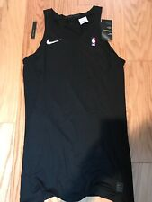Nike Nba Pro Hypercool Tank Top Size 2Xlt 880804-010 Rare Player Training Black