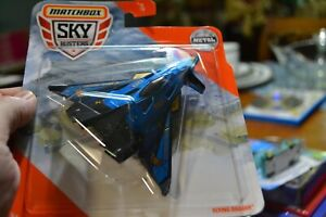 ~ MATCHBOX SKY BUSTERS 9/13 METAL FLYING DAGGER AGE 3+ COLLECTIBLE TOY PLANE ~