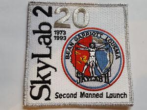 U.S. RAUMFAHRT NASA SPACE AUFNÄHER PATCH SKYLAB 2 20TH ANNIVERSARY FASCHING