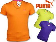 Camiseta Hombre Puma Diseñador Estampado de Rayas Delgado Top Manga Corta Casual