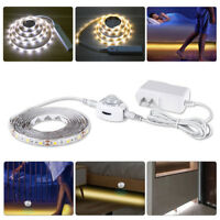1-5M PIR Motion Sensor LED Strip Waterproof 5050 2835 SMD 110V 220V Night light
