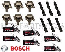 BMW E39 E46 E52 323i 325i 330i 525i X5 Bosch Ignition Kit Coils Plugs Connectors