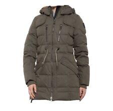 Pajar Canada NWT Women's Coat Parka Puffer Jacket Ava Fox Fur Down Green Medium
