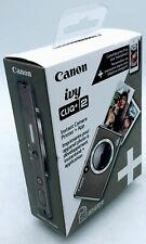 Canon Ivy Cliq+2 Instant Camera Printer+App - Metallic Mocha - 013803334906