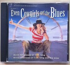Even Cowgirls Get the Blues (Soundtrack) by k.d. lang (CD, Oct-1993, Sire)
