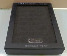 MARC JACOBS AUTHENTIC LUXURY BLACK CASE FOR iPAD AIR