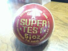 1 Cricket Leather Grade A super Test 5 1/2oz Sports Ball vintage