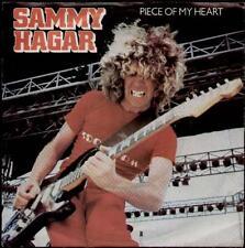 """SAMMY HAGAR Piece Of My Heart  7"""" Ps, B/W Baby'S On Fire, Gaf A 1884"""