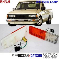 FOR NS/DATSUN 720 PICKUP TRUCK LH RH 80-86 TURN SIGNAL FRONT BUMPER LIGHTS LAMPS