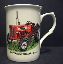 INTERNATIONAL B414 TRACTOR Fine Bone China mug cup beaker