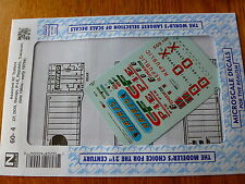 Microscale Decal N #60-04 Assorted 40' Trailers Consolidated Freightways, D-O-X,