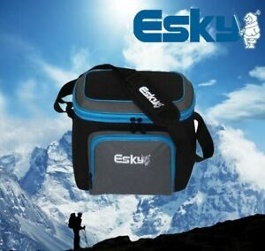 Genuine Esky 9 Can Soft Cooler Bag Insulator with Front Pocket & Strap