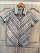 O'neill  ladies cotton and linen shirt size large excellent condition