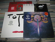4 TOTO LP LOT ISOLATION ,2 S.T. , IV  SHRINK W/ HYPE STICKER SOFT SAIL ROCK