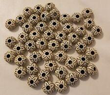 Preciosa-gotas de 7 mm Weiss opaco gelüstert 20g