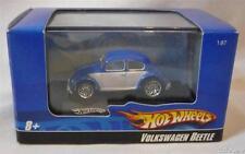 Volkswagen Beetle 1/87 scale Die-cast Model With Display Case From Hot Wheels