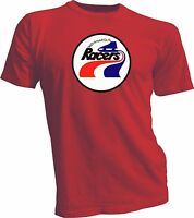 INDIANAPOLIS RACERS DEFUNCT WHA HOCKEY VINTAGE RED STYLE T-SHIRT NEW gretzky