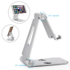 Tablet Ständer Faltbar Tisch Halterung Desktop Halter Multi-Winkel F. ipad Handy