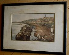 A.G. SPRENKLE, LISTED EARLY CALIFORNIA MASTERWORK, BELGRADE 1933, IMPRESSIONIST