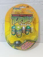 2003 *** 5 MIGHTY BEANZ *** TEENAGE MUTANT NINJA TURTLES TMNT mighty beans