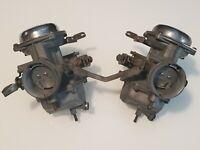 Honda 69-74 CB350  CL350 Carburetors Keihin 722A Japan Good Condition