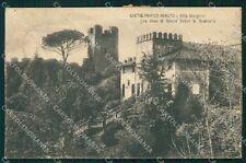 Treviso Castelfranco Veneto Villa Giorgione cartolina VK0315