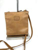 FOSSIL Tan Leather Crossbody Purse