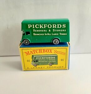 MATCHBOX 46 PICKFORDS REMOVAL SPW & D BOX
