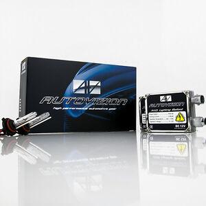 Autovizion AC 55w HID Kit 880 9005 9006 H3 H4 H7 H10 H11 H13 5202 6000K 5K Xenon
