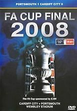 FA CUP FINAL 2008 PORTSMOUTH V CARDIFF CITY DVD BRAND NEW STILL SEALED