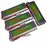 4 x 7.2V 4600mAh Ni-MH Rechargeable Battery RC Tamiya