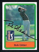 Bob Gilder #19 signed autograph auto 1981 Donruss Golf Trading Card