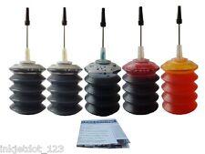 Refill ink kit for HP 564 564XL Officejet 4620 4622 printer 5x30ml
