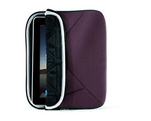 Targus A7 Sleeve For iPad 3 / 2 / 1 (Plum),TRI CELL CUSHION, WEATHER RESISTANT