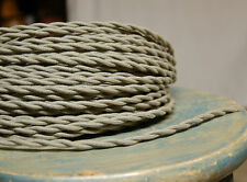 Ton Farbe Verdreht Tuch Bedeckt Draht, Vintage Stil Lampe Kordel, Antik Licht