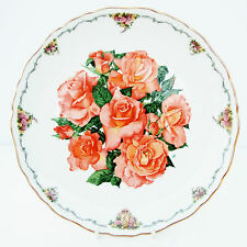 Vintage Royal Albert Plate Queen Mother's Favourite Flowers Elizabeth of Glamis